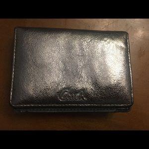 Silver Coach Wallet